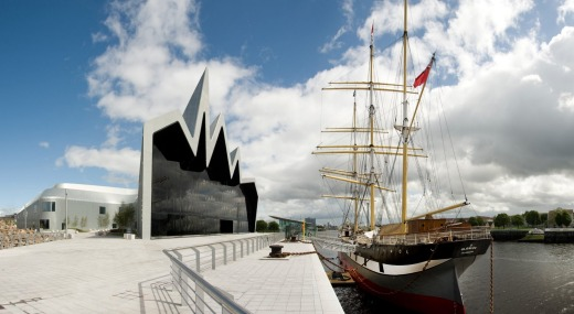 The Riverside Museum is one of Glasgow's many free museums.