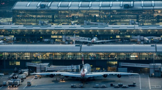 Terminal 5, for the dedicated use of British Airways, opened to much fanfare in 2008.