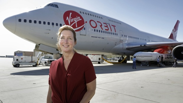 Kelly Latimer is the only female test pilot for Virgin Galactic.