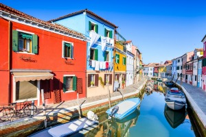 Burano is a quiet part of overcrowded Venice.