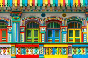 Little India, Singapore. This is Singapore's liveliest and most colourful ethnic enclave, with old colonial arcaded ...
