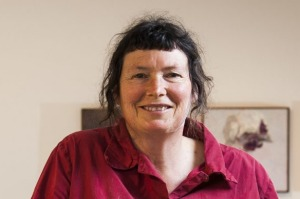 """Lucy Culliton: """"Being still so long making a painting meant I saw plenty of wildlife."""""""