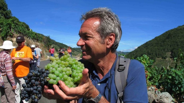 Andreas Holland leads groups of food loving walkers through Spain.
