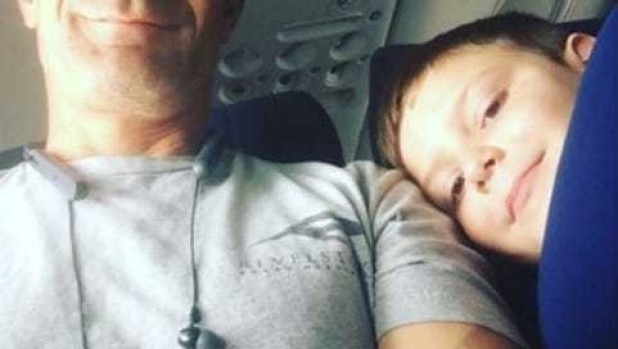 The photo Alexa Bjornson posted of her son with his seatmate on the flight has been liked more than 35,000 times.