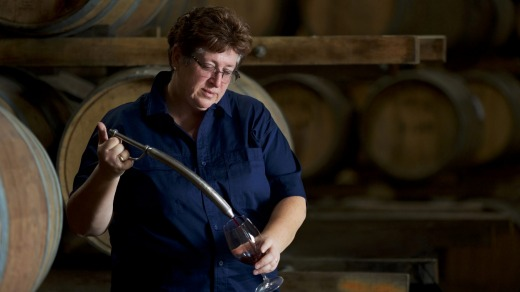 Senior fortified and red winemaker Julie Mortlock.