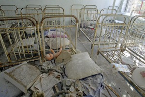 The dust in Pripyat remains radioactive.