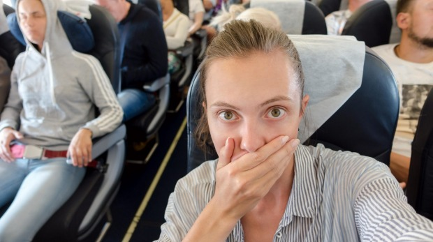 Air travel may cause the brain to produce a stress hormone, which can result in an increased heart rate and faster breathing.