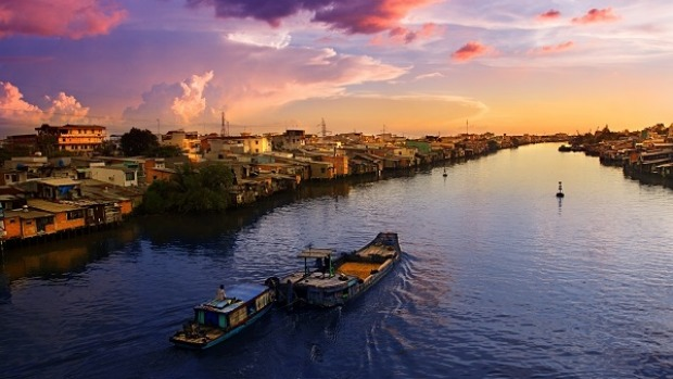 Leave behind the chaos of the city and revel in the serenity of the Mekong Delta.