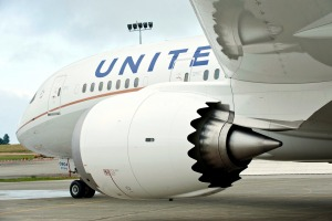 A United Airlines flight made an unexpected stop after a man on board bit another passenger.