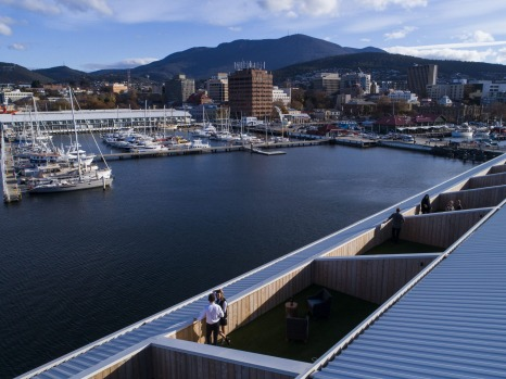 MACq 01 Hotel in Hobart was the No.3 Australian hotel, ranked fifth for the broader region.