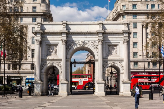 Marble Arch, London When John Nash designed London's Marble Arch in 1827, he meant it to be the ceremonial gateway to ...