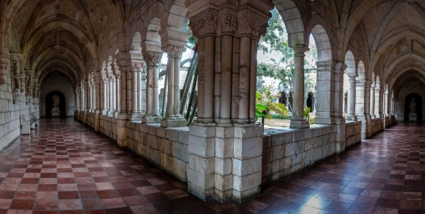 St. Bernard de Clairvaux Church, Miami This 12th century monastery cloister was originally sited in Sacramenia, central ...