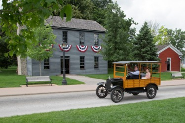 The Logan County Courthouse, Michigan Greenfield Village also plays host to several other snaffled and moved buildings – ...