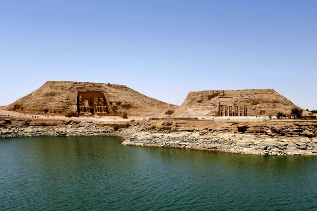 The Abu Simbel Temples, Egypt The construction of the Aswan High Dam in the 1960s meant the ancient 13th century BC ...