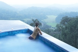 The luxury Taj Madikeri Resort and Spa.