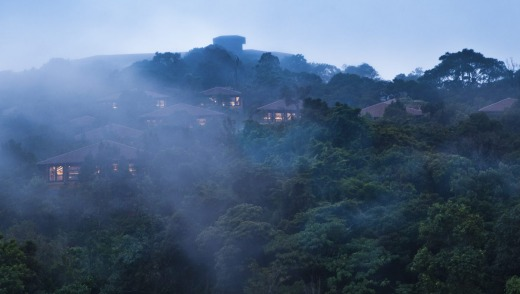 They call this the Scotland of India, with mists rolling into the verdant high-altitude valleys.