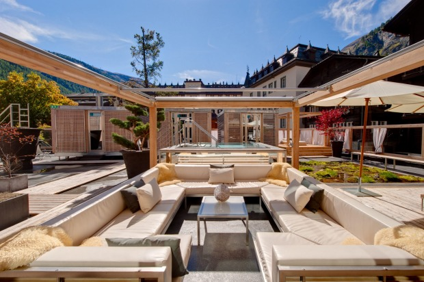 SWITZERLAND - Backstage Hotel, Zermatt  There is nothing standard about the Backstage Hotel, famous for its slightly ...