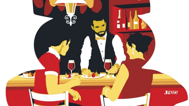 Conversation is an important part of the tapas ritual.