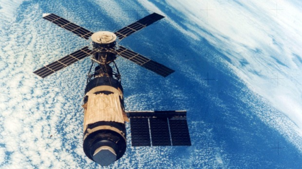 How a crashed US space station caused mayhem in the outback