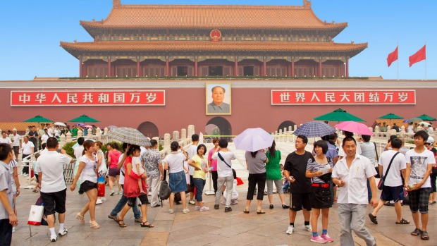Going to see going to see Chairman Mao's mummified body in Tiananmen Square is a remarkably religious experience.