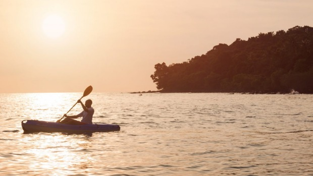 Snorkelling, fishing and kayaking are all available at Alila Villas Koh Russey.