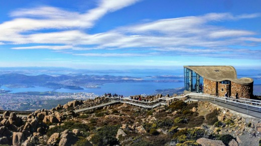 The Mount Wellington Lookout Centre.