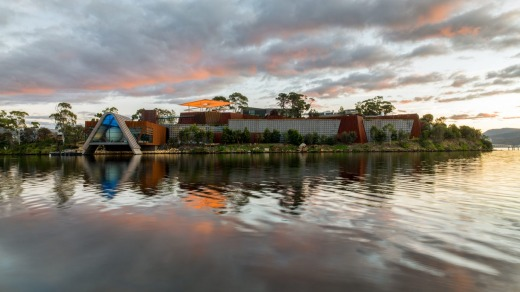 The Museum of Old and New Art  is the jewel in Hobart's arts-and-culture crown.