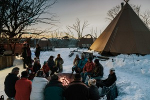 Snowshoe to cheese fondue with Alpine NatureExperience at Mount Hotham.