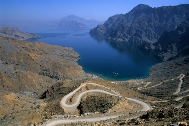 The Musandam Peninsula: The border between Oman and the UAE is a complete mess, largely due to both countries being ...
