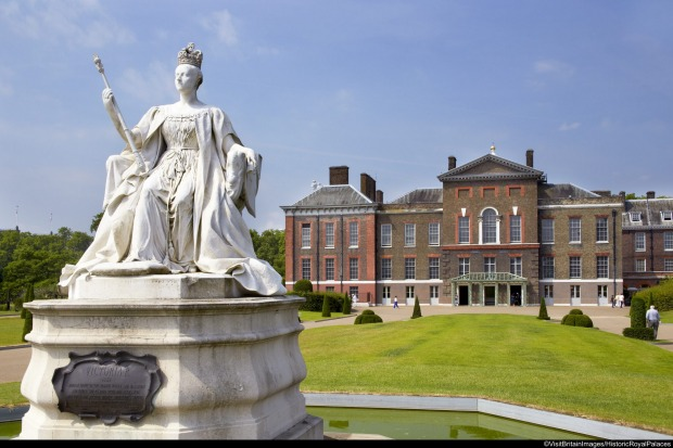 KENSINGTON PALACE: The birthplace of Queen Victoria, this palace is now indelibly associated with Diana, Princess of ...