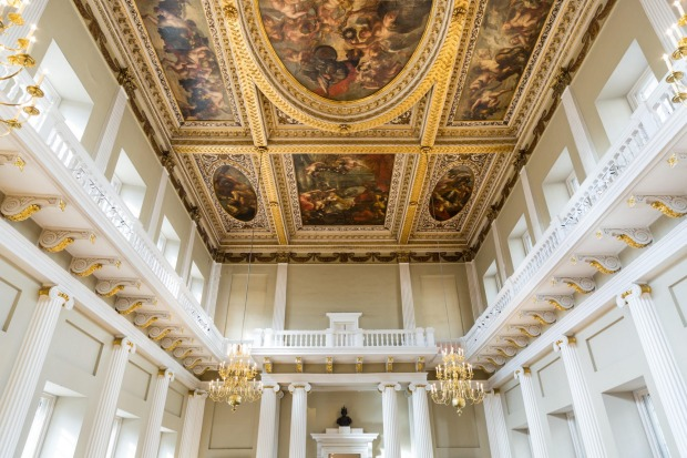 THE BANQUETING HOUSE: The present Banqueting House, designed by Indigo Jones and finished in 1622, lies on the site of ...