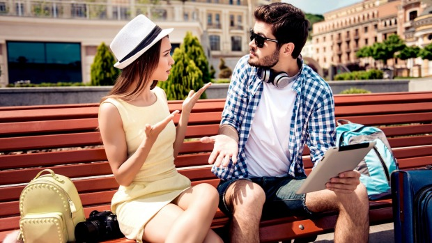 Men's and women's expectations frequently differ, so be upfront before you head away on your travels.
