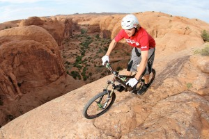 Moab Mountain biking.