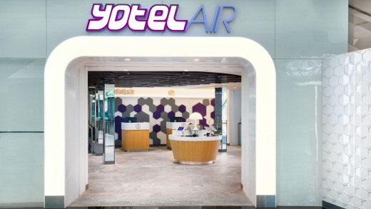 YotelAir in Singapore Airport's Jewel complex has flexbile check-in and check-out times.