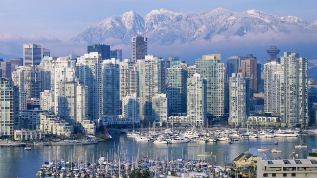 Winter in Vancouver.