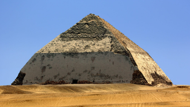 Sneferu's 'Bent' Pyramid in Dahshur, Egypt opens to public for first time in more than 50 years