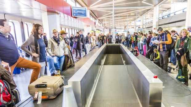 Waiting for your luggage at the baggage carousel can be a nightmare.