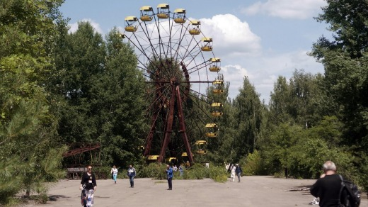 The Chernobyl Exclusion Zone, two hours north of the Ukrainian capital Kiev, the 1986 site of the world's worst nuclear ...