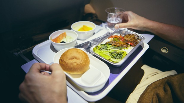 Airline meal service is a nightmarish process.