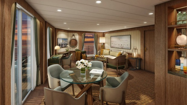 The ship's Signature Suite.