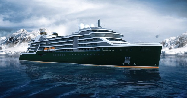 Seabourn Venture will launch in in 2021.