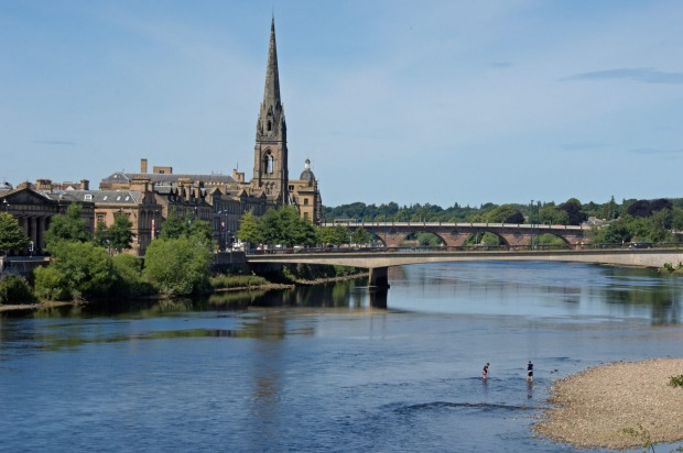 Perth, Scotland: Of all the capital city namesakes, Perth is probably the one worth visiting. Full of handsome ...