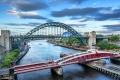 The Tyne Bridge between Newcastle and Gateshead, in the north-east of England, is strongly reminiscent of a famous ...