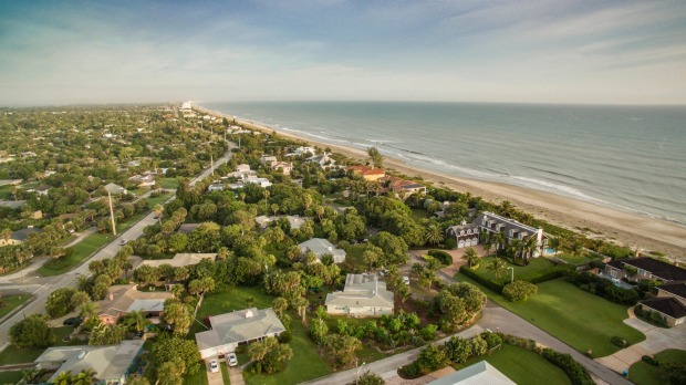 Melbourne, Florida: In the middle of Florida's east coast, a short distance south of Cape Canaveral, Melbourne is ...
