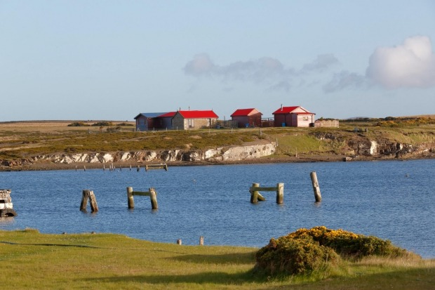 Darwin, the Falkland Islands: Unlike the Northern Territory capital, Charles Darwin actually visited this tiny ...