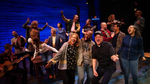 Come From Away at the Comedy Theatre.