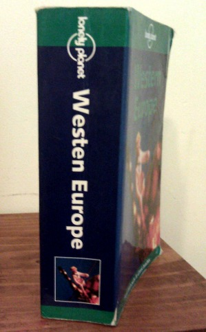 Lonely Planet's now-collectible 'Westen Europe' guidebook