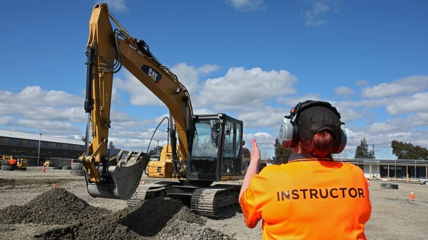 Dig It Invercargill offers visitors the chance to make the earth move.