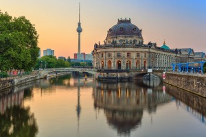 Sunrise at Museum Island.