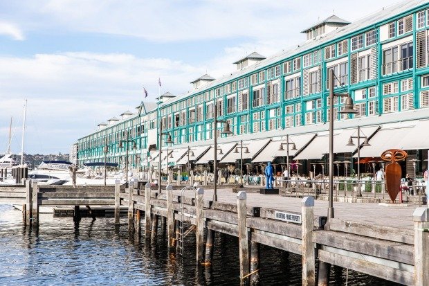 The Ovolo sits on Finger Wharf, one of the oldest timber wharfs in the world.